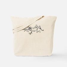 Broken Skeleton Tote Bag