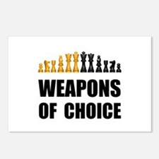 Chess Weapons Postcards (Package of 8)
