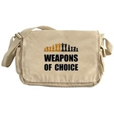 Chess Weapons Messenger Bag