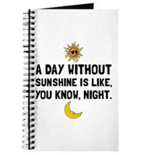 Day Without Sunshine Journal