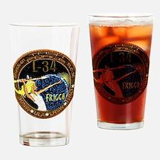 NROL 34 Launch Team Drinking Glass