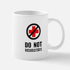 Do Not Resuscitate Mugs