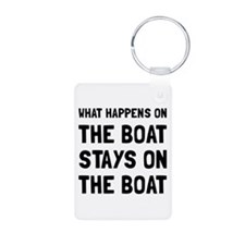Happens On The Boat Keychains