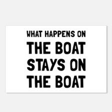 Happens On The Boat Postcards (Package of 8)