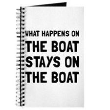 Happens On The Boat Journal