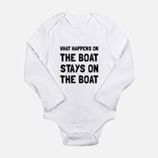 Happens On The Boat Body Suit