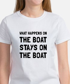 Happens On The Boat T-Shirt