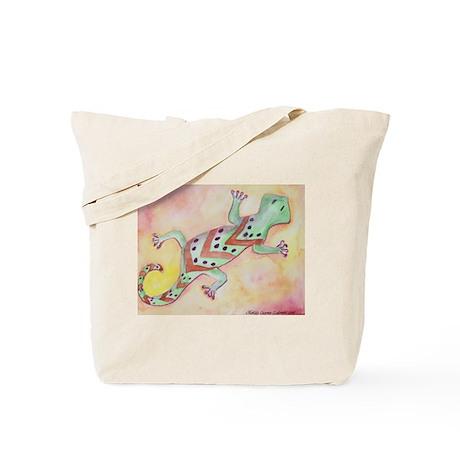 Southwest Salamander Art Tote Bag