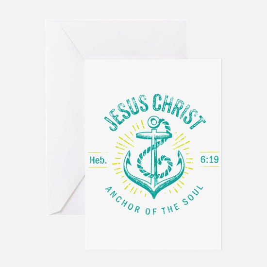 Anchor of the Soul Greeting Cards