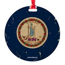 VA Vintage Ornament