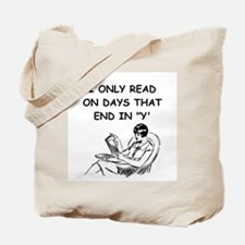 READ13 Tote Bag