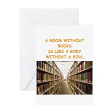 BOOKSCIA4 Greeting Cards