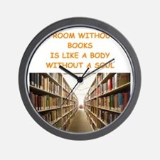 BOOKSCIA4 Wall Clock