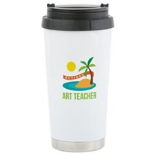 Retired Art teacher Travel Coffee Mug