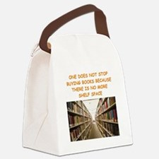 BOOKSCIA2 Canvas Lunch Bag