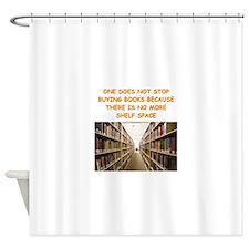 BOOKSCIA2 Shower Curtain