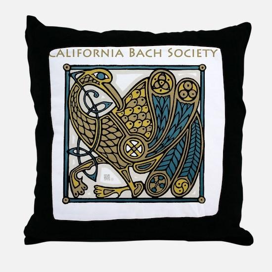 Cute Bach Throw Pillow