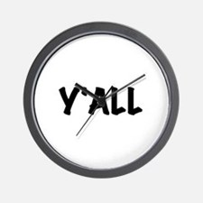 Y'All Wall Clock