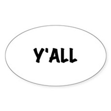 Y'All Decal