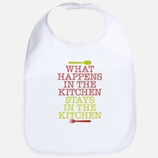 What Happens in the Kitchen Bib