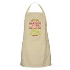 What Happens in the Kitchen Apron