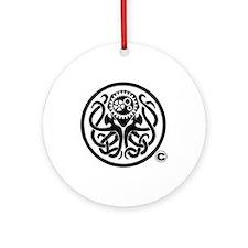 Cthulhu Ornament (round)