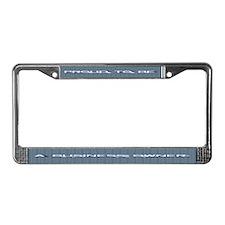 Business Owner License Plate Frame