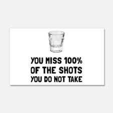 Miss The Shots Wall Decal