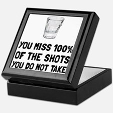 Miss The Shots Keepsake Box