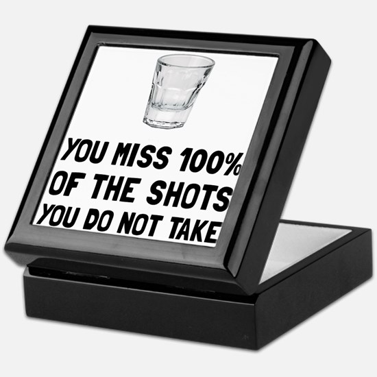 Miss The Shots Keepsake Box