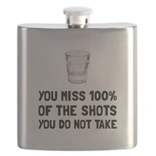 Miss The Shots Flask