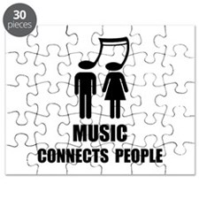Music Connects People Puzzle