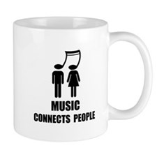 Music Connects People Mugs