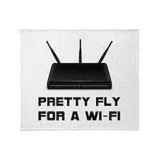 Pretty Fly WiFi Throw Blanket