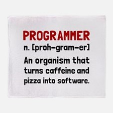 Programmer Definition Throw Blanket