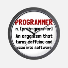 Programmer Definition Wall Clock