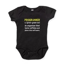 Programmer Definition Baby Bodysuit