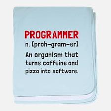 Programmer Definition baby blanket