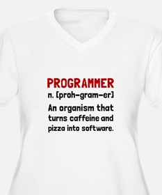 Programmer Definition Plus Size T-Shirt