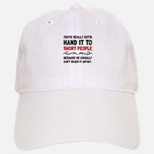 Short People Baseball Baseball Baseball Cap