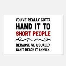 Short People Postcards (Package of 8)