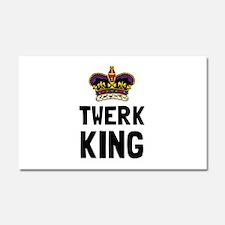 Twerk King Car Magnet 20 x 12