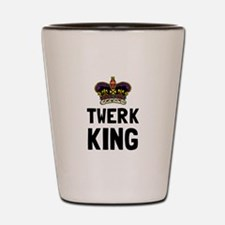Twerk King Shot Glass