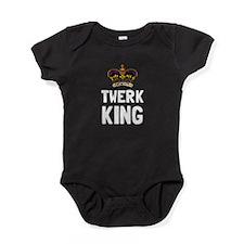 Twerk King Baby Bodysuit