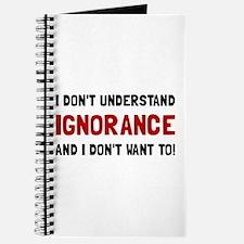 Understand Ignorance Journal