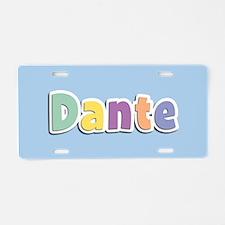Dante Spring14 Aluminum License Plate