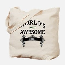 World's Most Awesome Virgo Tote Bag