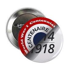 """World War I Centennial 2.25"""" Button"""