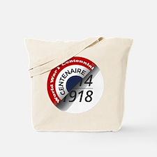 World War I Centennial Tote Bag