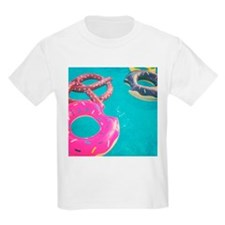 Donut run near the pool T-Shirt